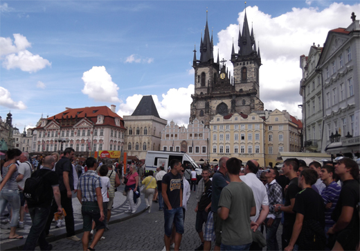 Plaza Mayor de Praga