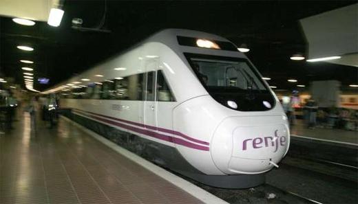 Renfe for Trenhotel de barcelona a paris