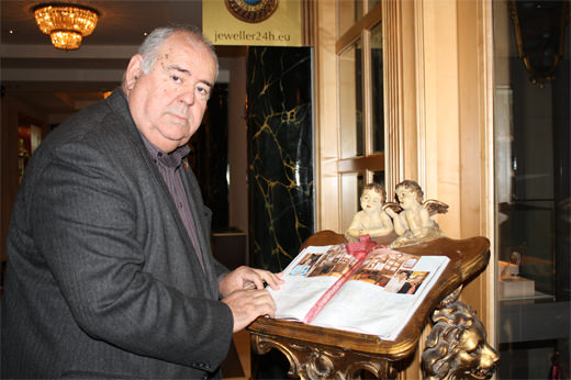 Enric Ribera en el Hotel Sheraton de Varsovia